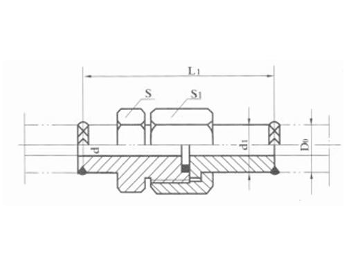 焊接式端直通管接头JB970-77