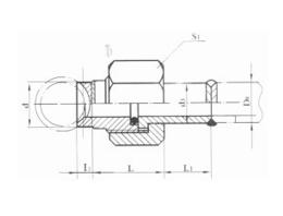 焊接式分管管接头 JB977-77